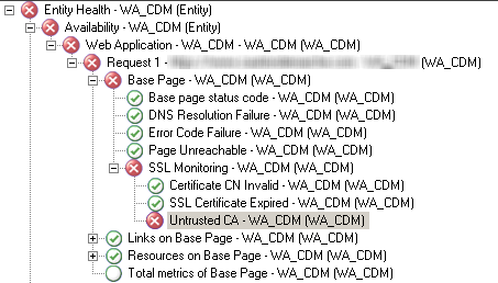 SCOM 2007 Web Application: Untrusted CA